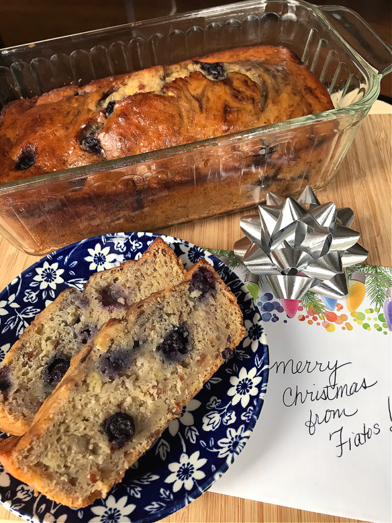 Operation Banana Bread: One for You, One to Share...this amazing banana bread recipe is so easy and it makes 2 loaves so you can freeze one, or give one away!