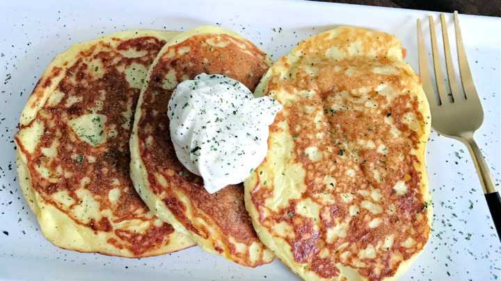 Quick Potato Pancake Recipe