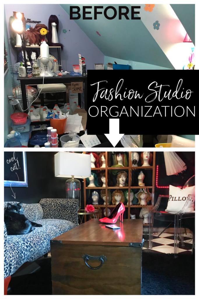 Got small spaces?  This Awkward Dormer Space Turned Cosplay Design Studio is loaded with small awkward home space ideas!