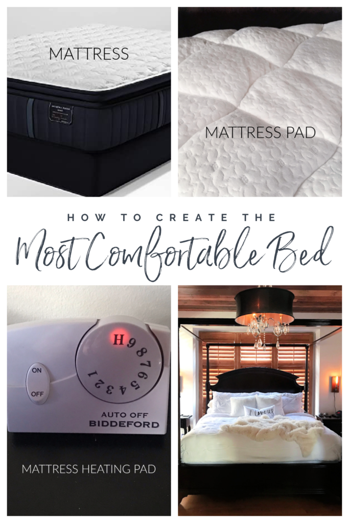 Here's a very informative step by step tutorial on Creating the Most Comfortable Bed of Your Dreams done by real people and not a furniture store.