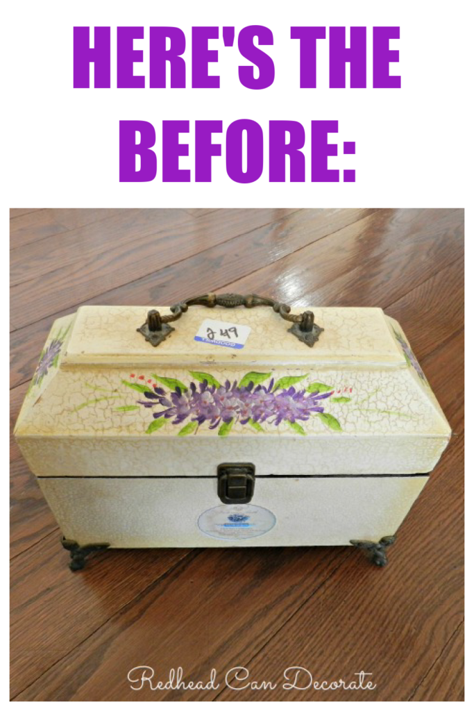 This cute Easter Egg Chest would be the perfect touch in your Easter holiday decorating, and children would love it!