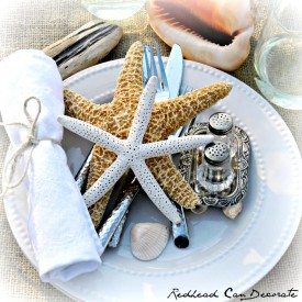 Seaside Tablescape & Giveaway