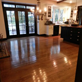 No Sanding Non Toxic Wood Floor Refinishing